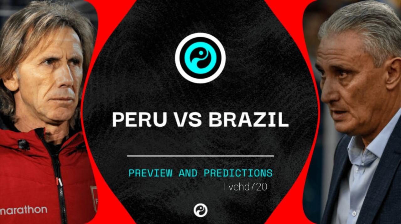 مباراة البرازيل والبيرو اليوم