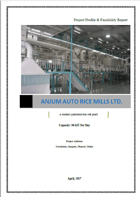 Project profile of auto rice mill