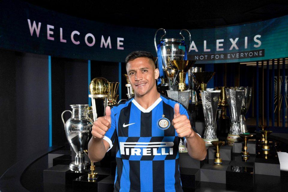Inter Milan forward Alexis Sanchez