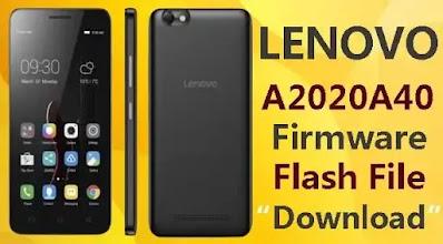 Lenovo A2020a40 Firmware Flash File