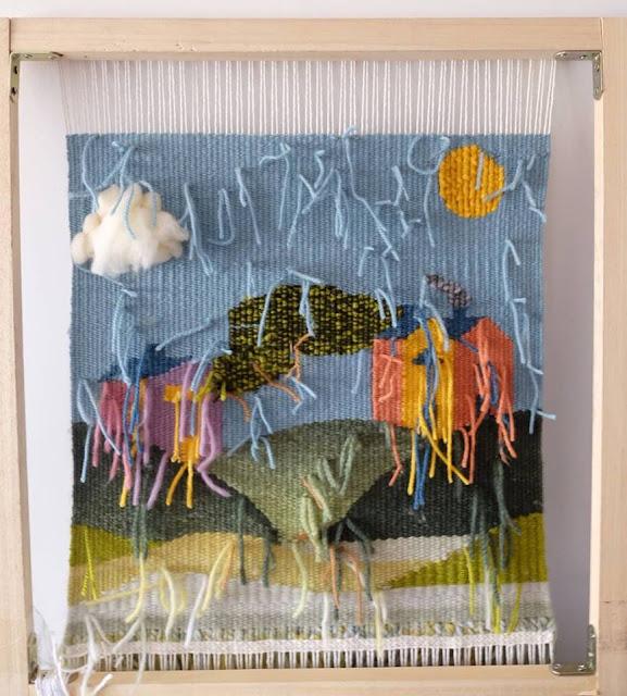 tapiz paisaje - cordelia - tapestry - weaving