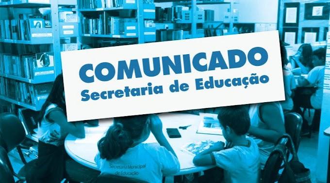 Coronavírus: Escolas municipais de Grossos terão aulas suspensas