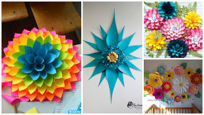 18 Ideas Faciles Y Hermosas Para Decorar Con Flores De Papel