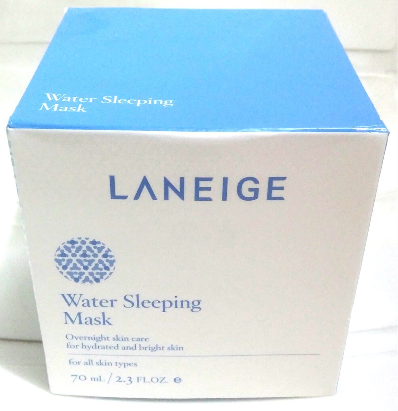 water sleeping mask how to use