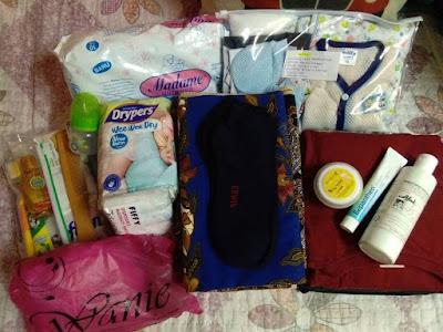 DONE : Hospital Bag (Ibu)