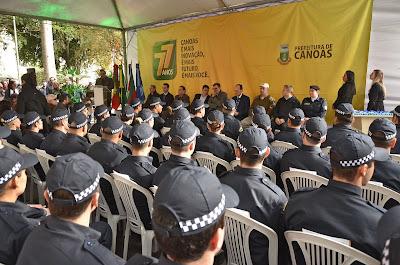Guarda Municipal de Canoas (RS) começa a utilizar armas de fogo