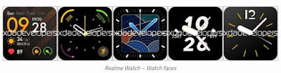Leak reveals the Realme Smart Watch design and specifications