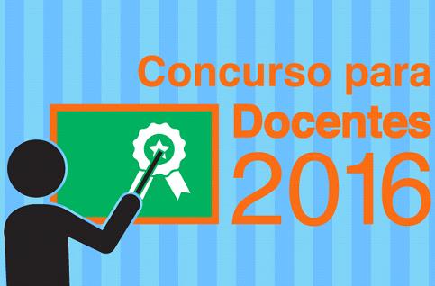 Educaci n inicia concurso de oposici n docente 2016 solo for Concurso meritos docentes 2016