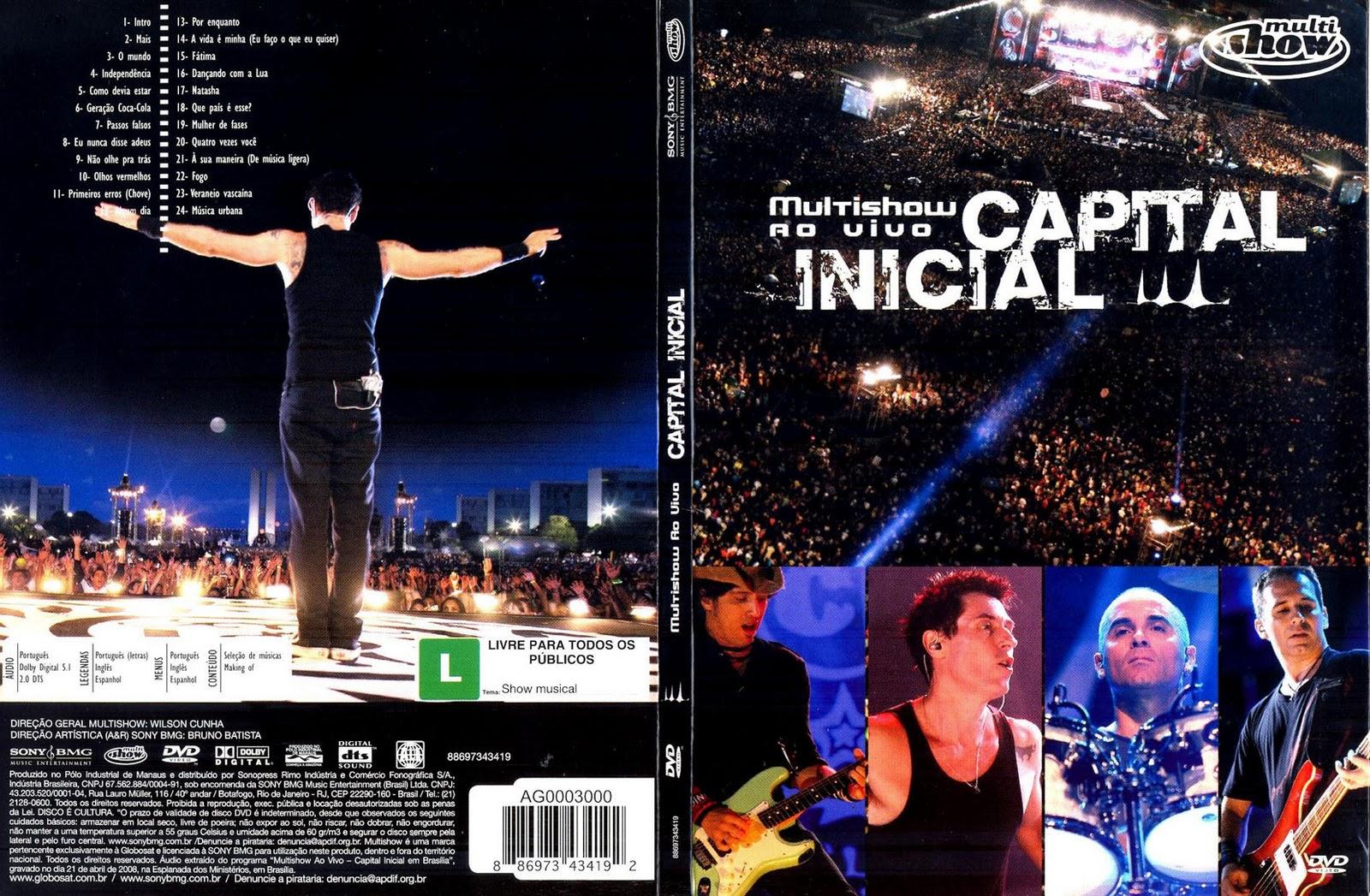 INICIAL MULTISHOW GRATIS AO CAPITAL BAIXAR VIVO DVD