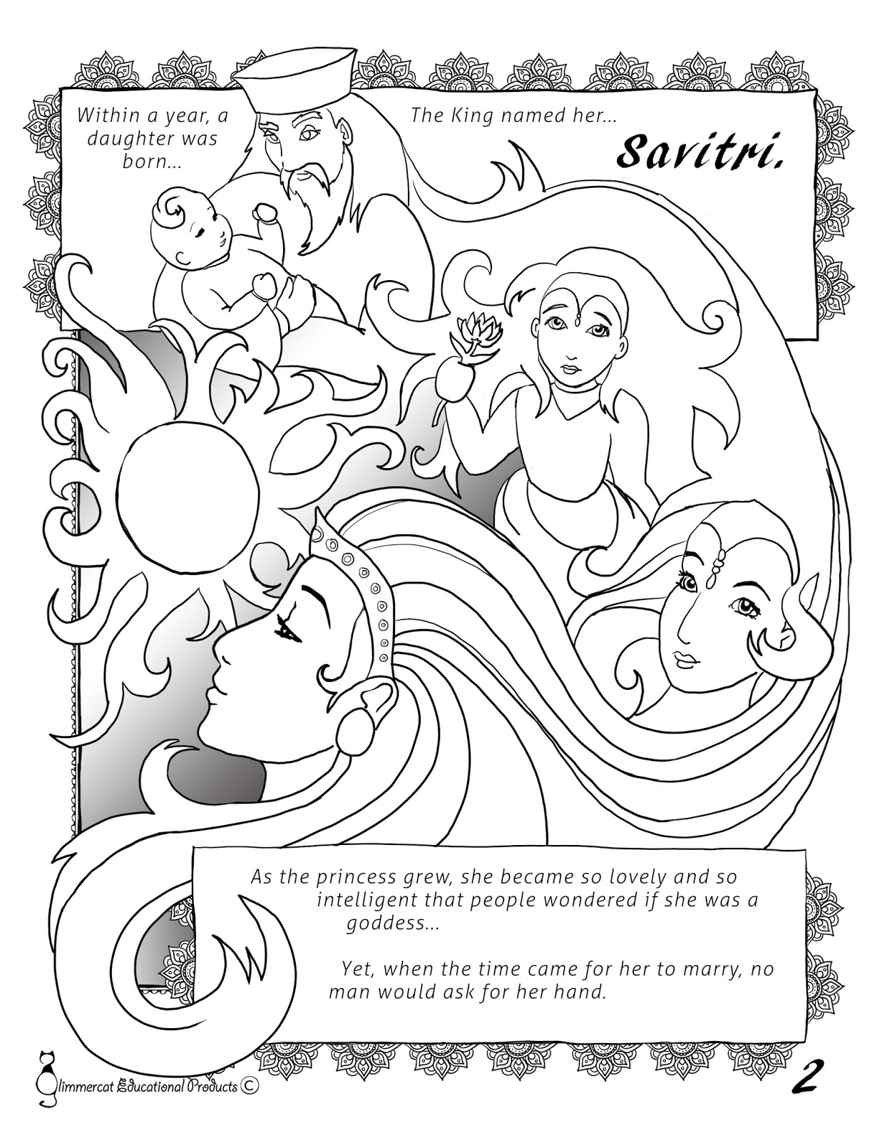 ancient india coloring pages - glimmercat education our free indus river valley mini