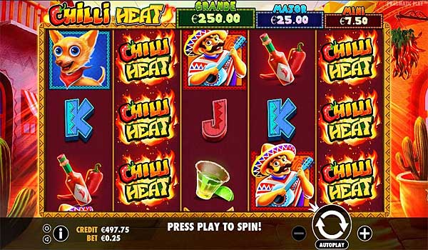 Main Gratis Slot Indonesia - Chilli Heat (Pragmatic Play)