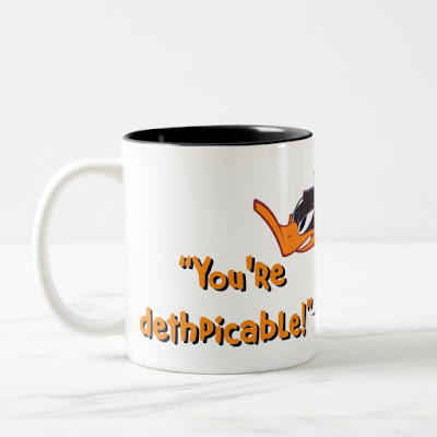 Daffy Duck You're Dethpicable - Funny Coffee Mug
