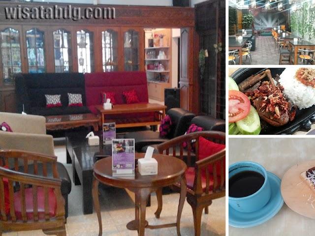 Heaven's Cafe, Tempat Kuliner dan Nongkrong Suasana Rumah di Jalan Lodaya