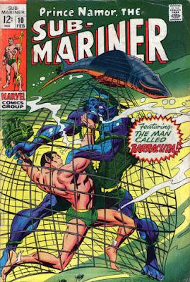 The Sub-Mariner #10, the Barracuda