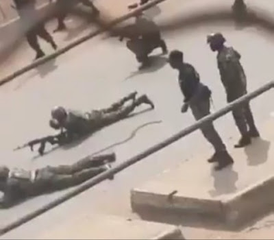 Heavy Gunshots In Orlu, As ESN And Security Operatives Clash (Video)