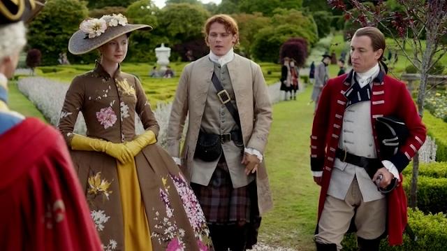 Momento incómodo del 2x05 de 'Outlander'