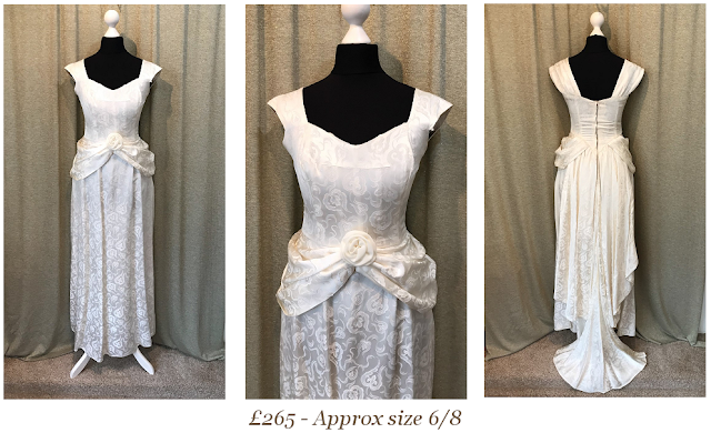 victoria wedding dress, downton abbey wedding dress,vintage wedding dress with bustlesummer boho lace vintage wedding dress available from vintage lane bridal boutique bolton manchester