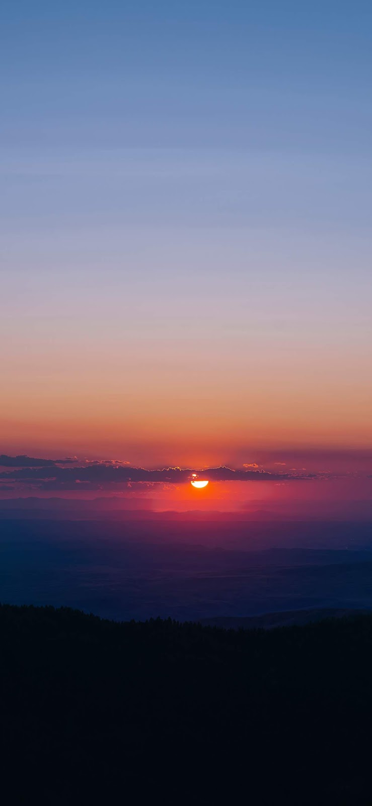 Sunset wallpaper iphone 11