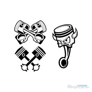 Piston Icon Logo vector (.cdr)