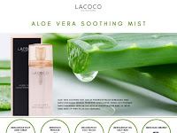 Aloe Vera Soothing Face Mist from LACOCO.