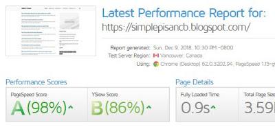 Simple Pisan - Template Blog SEO Friendly Terbaru