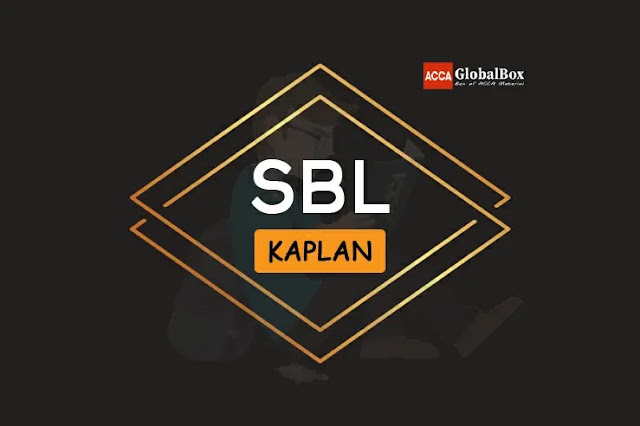 SBL - Kaplan Study Texts, Accaglobalbox, acca globalbox, acca global box, accajukebox, acca jukebox, acca juke box,
