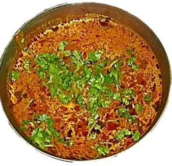 An image of the paratha made by lauki and ragi