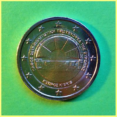 2 Euros Chipre Pafos