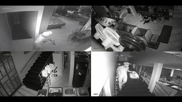Loja é roubada e meliante leva R$ 30 mil reais em aparelhos celulares em Dom Basílio