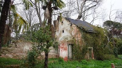 Secadero y galería de tiro. Quinta de Torre Arias
