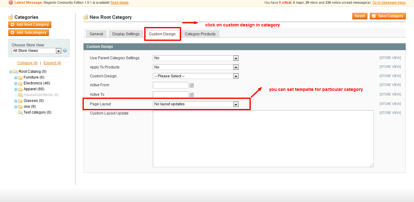My Information Change Product List Page Template In Magento