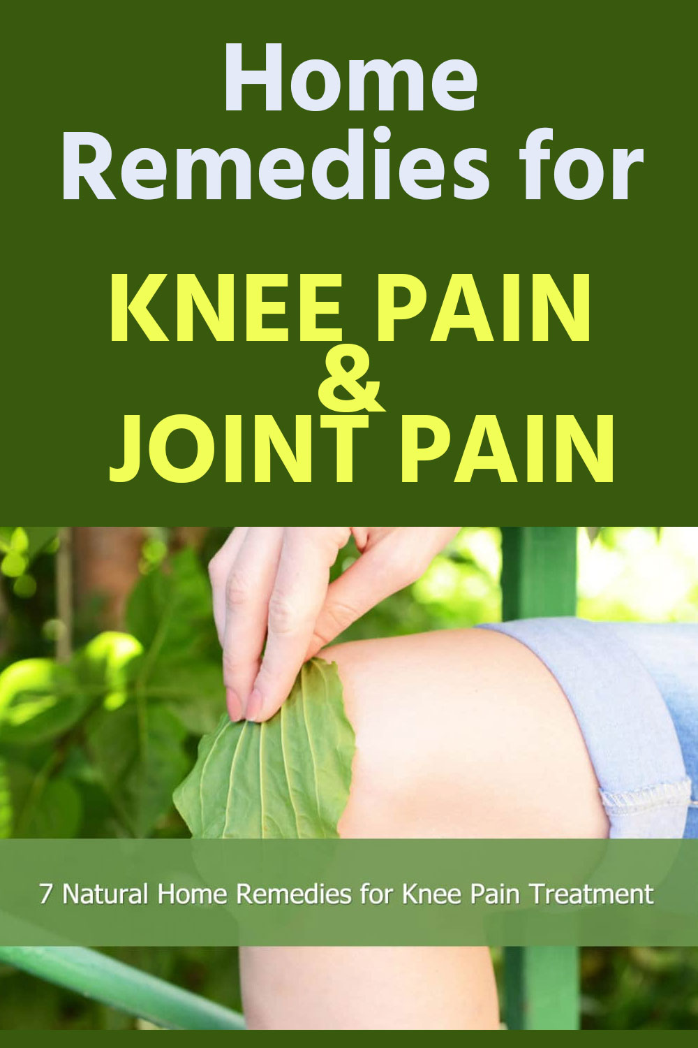 HOME REMEDIES FOR JOIN PAIN