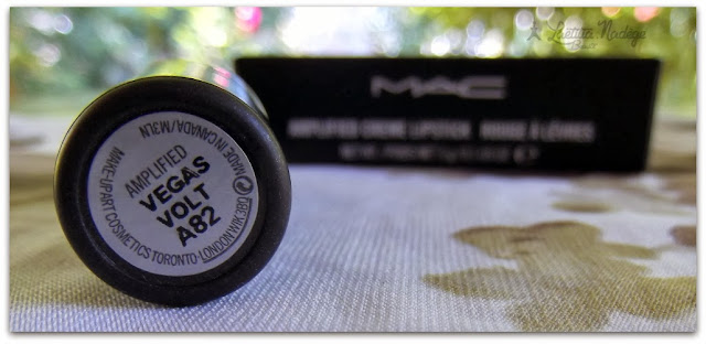 MAC COSMETICS  Vegas Volt Amplified Creme Lipstick .