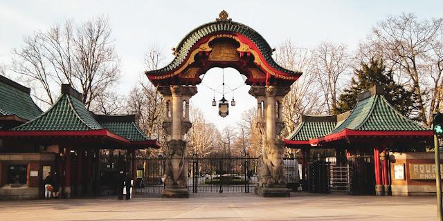 Zoo di Berlino porta di ingresso degli elefanti