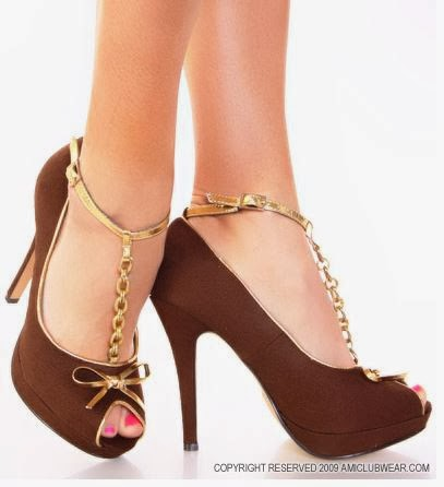Sepatu Peep Toe