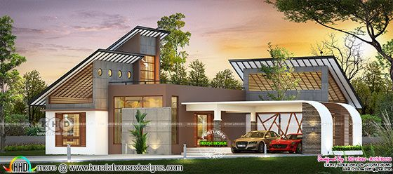 Single floor ultra modern home 1420 square feet