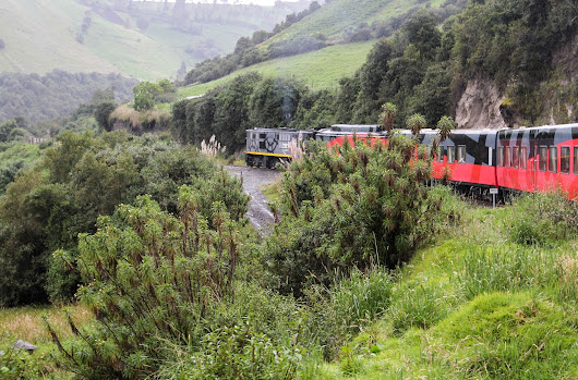 A wonderfull journey in the Tren Crucero - Ecuador