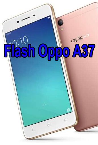 Cara Flash Oppo A37 Via Pc : flash, Flash