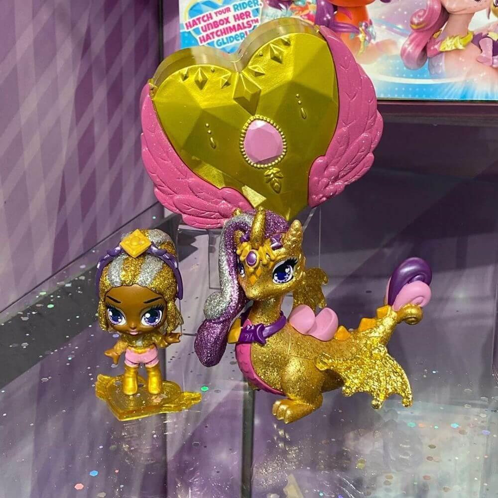 Новые игрушки 2020 феи Hatchimals Pixies Riders с питомцем