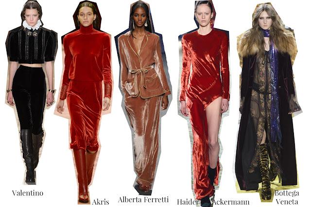Valentino, Akris, Alberta Ferretti, Haider Ackermann, Bottega Veneta, Vogue, Velvet, A/W 16