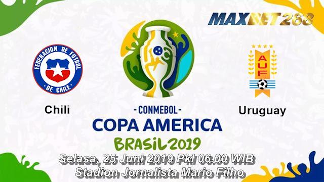 Prediksi Chili Vs Uruguay, Selasa 25 Juni 2019 Pukul 06.00 WIB