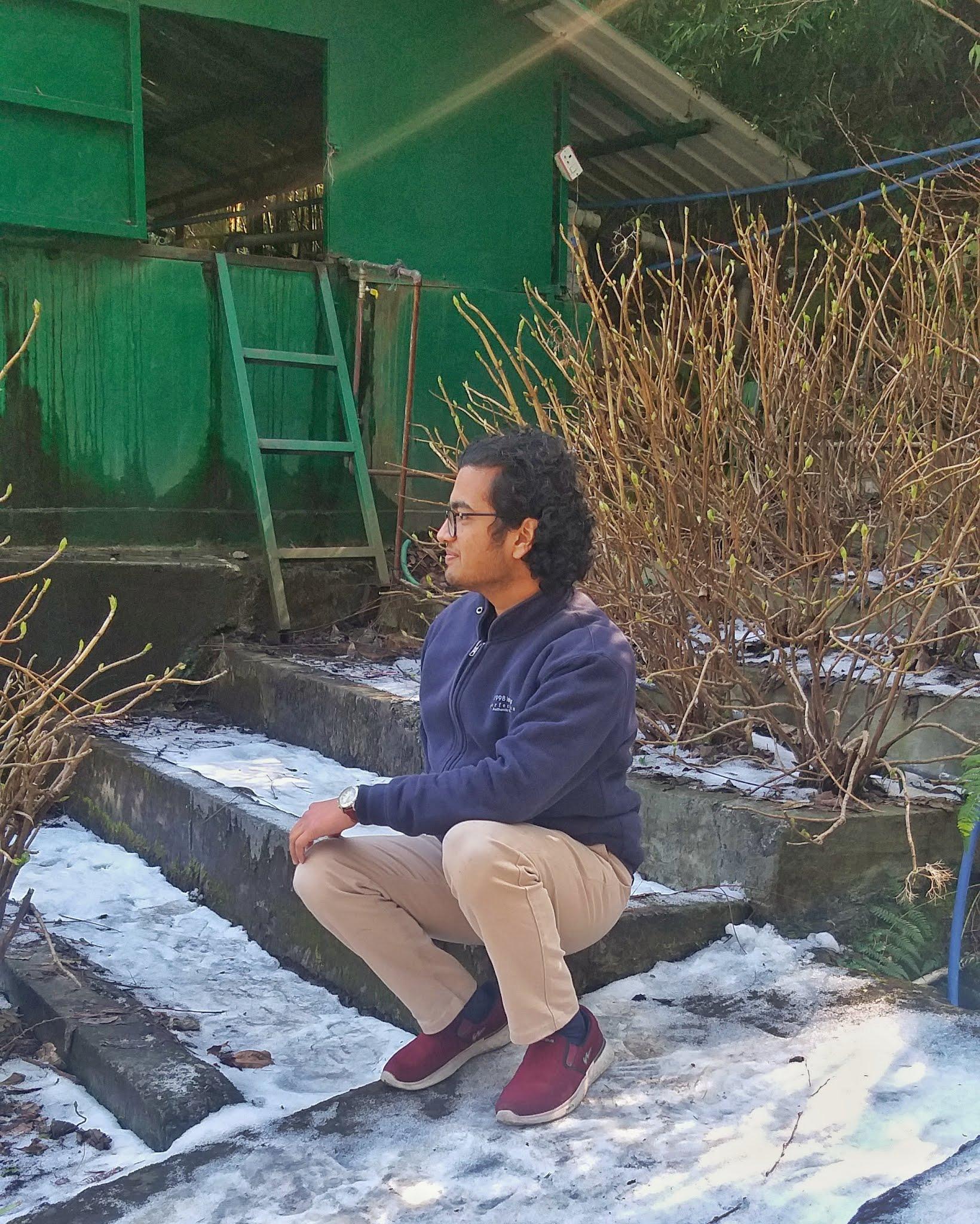 snowfall, mussoorie, mall road, company garden, shiv sangal, dehradun, uttarakhand