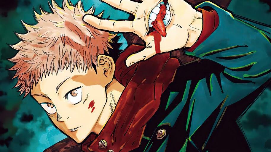 Yuji Itadori Jujutsu Kaisen Anime 4K Wallpaper #7.2853