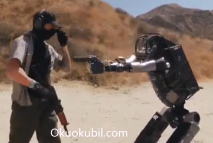 İlk Savaş Robotu Başarıyla Denendi