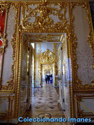Puertas en el Palacio de Catalina en Pushkin