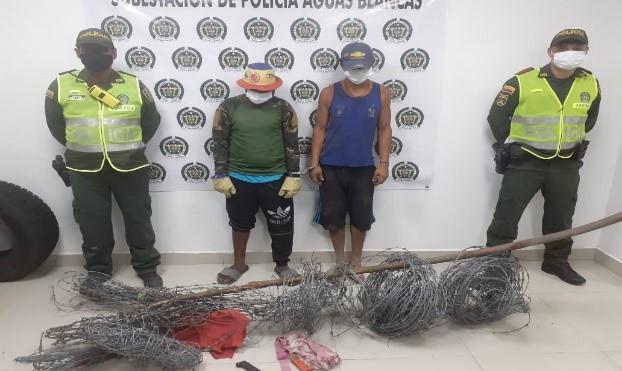 hoyennoticia.com, Los pillaron robando en una finca de Aguas Blancas