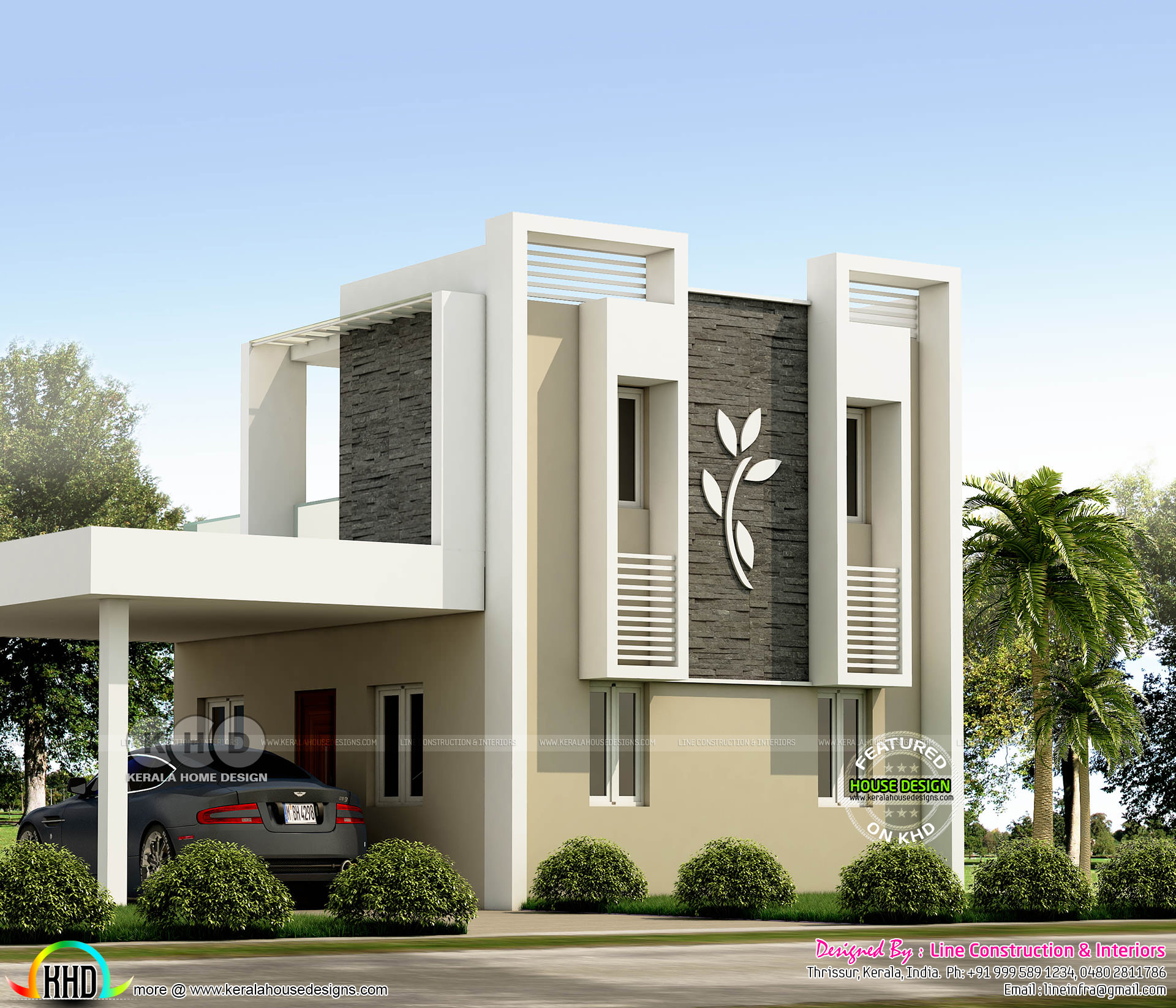 Low Cost 4 Bedroom 820 Square Feet Home Kerala Home Design And Floor Plans