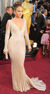 Jennifer Lopez in Zuhair Murad, Oscars 2012