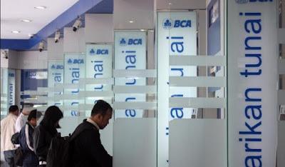 Ilustrasi Top Up Saldo Gopay Melalui Mesin ATM BCA