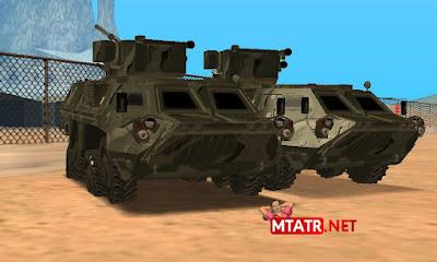 MTA SA BTR-4E Military Vehicle